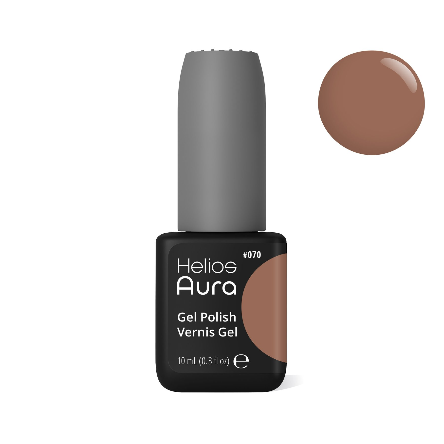 AURA GEL POLISH FORGET LOVE, FALL IN COFFEE - Nails - Aura Helios (gelish) dluxpro