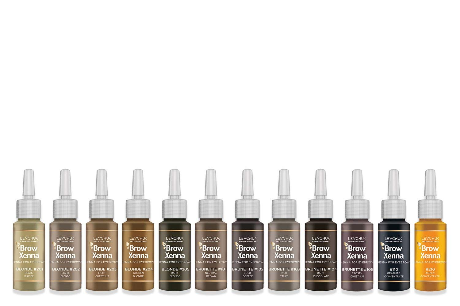 Brow Xenna Color Individual - Brow Xenna - Brow Xenna Products dluxpro